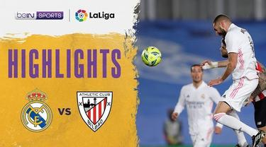 Berita video, Karim Benzema bawa Real Madrid unggul atas Athletic Bilbao