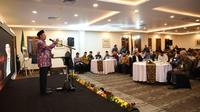 Menteri Agama (Menag) Lukman Hakim Saifuddin pada Rakernas Evaluasi Haji 2019. Dok Kemenag