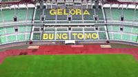 Penampakan Stadion Gelora Bung Tomo Surabaya setelah proses renovasi. (Bola.com/Aditya Wany)