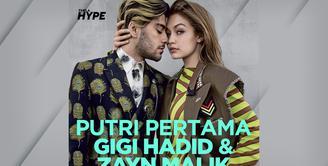 Gigi Hadid dan Zayn Malik Sambut Kelahiran Putri Pertama