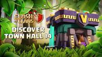 Clash of Clans Town Hall 14 Sudah dirilis. (Doc: Supercell)