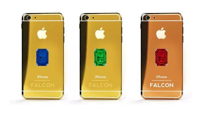 Smartphone termahal di dunia, Falcon SuperNova iPhone 6 Pink Diamond (Foto: Digital Web Review)