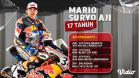 Tonton Aksi Mario Aji dalam Ajang FIM CEV Moto3 2021 di Kanal FOX Sports Eksklusif Melalui Vidio. (Su,ber : dok. vidio.com)