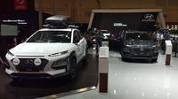 Hyundai menghadirkan Kona Corner di GIIAS 2019. (Septian / Liputan6.com)