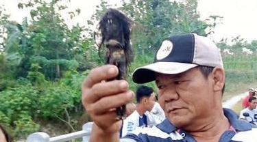 Penemuan dua benda mirip jenglot membuat heboh warga di Desa Pare, Kecamatan Mondokan, Sragen. (Solopos/ Ist)