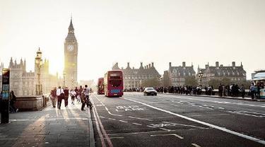 Ilustrasi London.