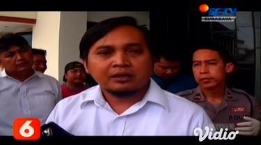 Satuan Reserse Narkoba Polrestabes Surabaya, Jawa Timur mengamankan Lin Ayunda Sari (28) warga Perum Bidai, Batam, Kepulauan Riau yang simpan sabu di kemaluannya, Selasa (11/2/2020).