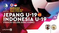Jepang U-19 vs Indonesia U-19