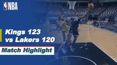 Berita Video Highlights NBA, LA Lakers Menelan Kekalahan di Kandang Sacramento Kings 120-123