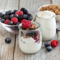 Ilustrasi yogurt Yunani (iStockphoto)