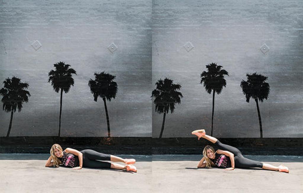 Side Leg Kick | Sumber Foto: Prevention.com