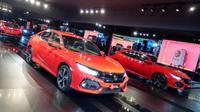 PT Honda Prospect Motor (HPM) menepati janjinya dengan memperkenalkan Honda Civic Hatchback Turbo di Jakarta, Jumat (9/6/2017).(Rio Apinino)