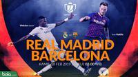 Copa del Rey: Real Madrid Vs Barcelona Head to Head (Bola.com/Adreanus Titus)