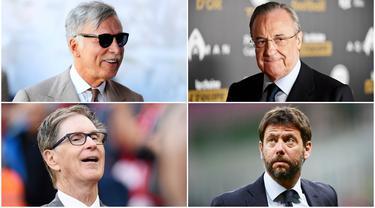 Rencana digelarnya Liga Super Eropa telah menuai kontroversi dan membuat panas jagat sepak bola Eropa. Berikut daftar orang- orang di balik kompetisi yang disebut-sebut sebagai tandingan Liga Champions.