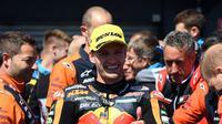 Pembalap Moto2 dari tim Ajo KTM, Brad Binder impikan naik motor MotoGP (AFP)