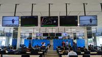 Fasilitas media center di Sirkuit Internasional Chang, Buriram, Thailand. (Bola.com/Muhammad Adiyaksa).