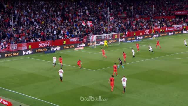 Sevilla mengakhiri catatan tanpa kemenangan dan membuka harapan ke Liga Europa setelah menang 1-0 dari Real Sociedad di Liga Spany...