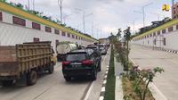 Underpass Brigjen Katamso, Medan, Sumatera Utara (Foto: Dok Kementerian PUPR)