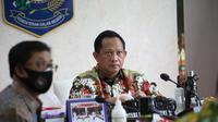 Menteri Dalam Negeri Tito Karnavian RDP dengan Komisi II DPR RI Melalui Video Conference. (Foto: Dokumentasi Kemendagri).