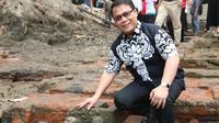 Wakil Ketua MPR RI Ahmad Basarah di lokasi temuan temuan Situs Sumberbeji.