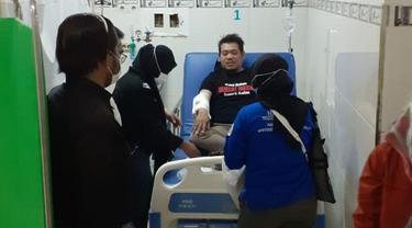 JR kini dirawat di Rumah Sakit Aloe Saboe, Kota Gorontalo (Arfandi Ibrahim/Liputan6.com)