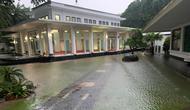 Istana Negara Banjir Akibat Hujan Semalaman (Foto: Setpres)