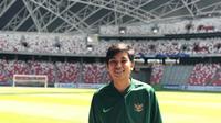 Vivi Oktavia Risky atau Vio Risky menjadi salah satu skuat Timnas Wanita Indonesia saat menjajal kekuatan dengan mengikuti turnamen bertajuk FAS Women's International Quadrangular 2018 di Singapura. (Doc: Vio Risky)