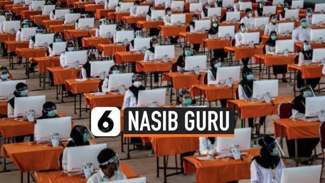 Mendikbud Nadiem Makarim menjelaskan rekrutmen CPNS untuk formasi guru tetap ada. Guru honorer dan lulusan profesi guru bisa mendaftar melalui PPPK.