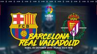 La Liga - Barcelona Vs Real Valladolid (Bola.com/Adreanus Titus)
