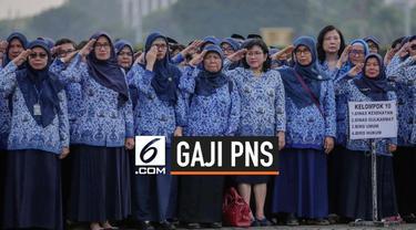 Kementerian Keuangan pastikan tak akan ada kenaikan gaji Aparatur Sipil Negara pada 2020. Karena pada 2019, PNS, TNI, dan Polri sudah menerima kenaikan gaji pokok sebesar 5 persen.