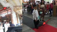 Dekorasi Pesta Pernikahan di Filipina Ini Bikin Miris Melihatnya (dream/Foto: Facebook Estela Puso)