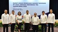 RUPST PT Jasa Armada Indonesia Tbk (IPMC), pada Kamis, 17 Juni 2021 (Dok: Istimewa)