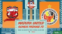 Shopee Liga 1 - Madura United Vs Semen Padang FC (Bola.com/Adreanus Titus)