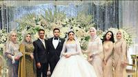 Potret Pernikahan Cucu Elvy Sukaesih, Mewah Dengan Konsep Princess Disney (sumber: Instagram/nadra_shahab)