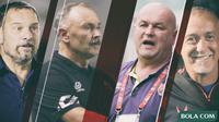 Trivia - Pelatih-pelatih Eropa Timur menyerbu Liga 1 (Bola.com/Adreanus Titus)