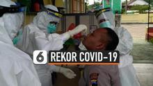Indonesia kembali mencatat rekor baru dalam penambahan kasus harian Covid-19. Hari Kamis (3/12) jumlah total kasus di tanah air mencapai lebih dari 557 ribu kasus.
