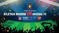 ATLETICO MADRID VS. ARSENAL FC