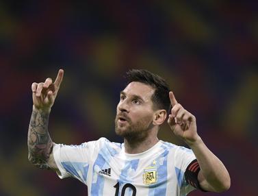 Argentina Bermain Imbang Atas Chile 1-1