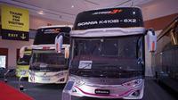 Bus terbaru racikan karoseri Adiputro (Oto.com)
