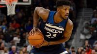 Bintang Minnesota Timberwolves, Jimmy Butler. (Bleacher Report)