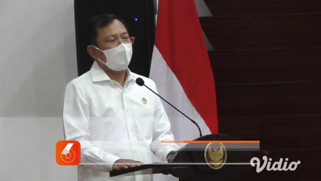 Kementerian Kesehatan menyumbangkan satu unit robot Autonomus Ultraviolet-C Mobile (AUMR) untuk membantu percepatan penanganan Covid-19 di Jawa Timur.