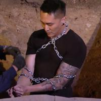 Aksi kedua Demian Aditya di America's Got Talent. (via Vidio/Demian Channel)