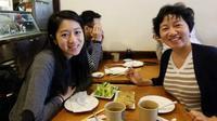 Huang rela menempuh perjalanan ribuan kilometer di malam hari demi mengunjungi putrinya yang sakit kepala. (Sumber Foto: Twitter)