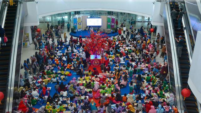 Bandara Balikpapan Jadi Lokasi Event Mewarnai Yang Menarik News
