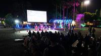'KPK Rika Ora Dewekan' gelaran acara oleh anak muda Purbalingga untuk mendukung KPK dan menolak pelemahan KPK. (Foto: Liputan6.com/Bowo Leksono untuk Muhamad Ridlo)