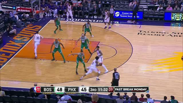 Berita video game recap NBA 2017-2018 antara Boston Celtics melawan Phoenix Suns dengan skor 102-94.