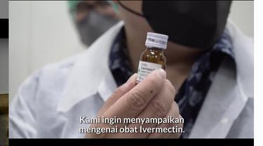 Obat  Ivermectin. Instagram @erickthohir