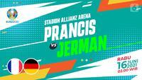 Prancis vs Jerman (liputan6.com/Abdillah)