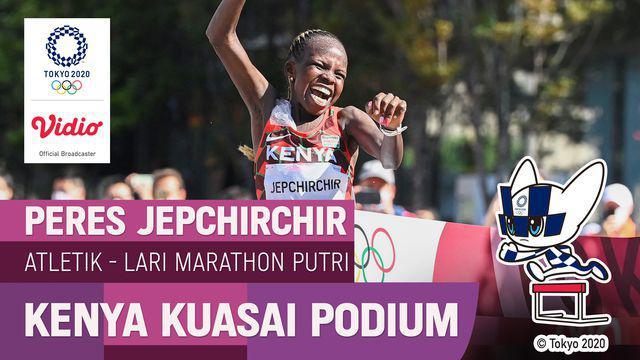 Berita video momen atlet wakil dari Kenya meraih medali emas dan perak untuk cabang olahraga atletik nomor lari maraton putri di Olimpiade Tokyo 2020, Sabtu (7/8/2021) pagi hari WIB.