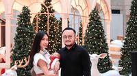 Samuel Wongso bersama anak istri rayakan natal 2019 di Jakarta. (Instagram @mjsehonanda)